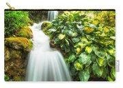 Waterfall In The Hosta Carry-all Pouch