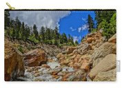 Waterfall In The Rockies Carry-all Pouch
