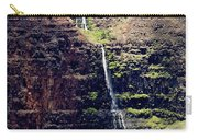 Waterfall In The Valley Carry-all Pouch
