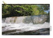 Waterfall In Woodstock Vermont Carry-all Pouch
