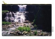 Waterfall Into The Stream Carry-all Pouch