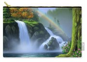 Waterfall Carry-all Pouch by Jerry LoFaro
