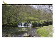 Waterfall Lathkill Dale Derbyshire Carry-all Pouch
