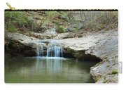 Waterfall On Piney Creek Carry-all Pouch
