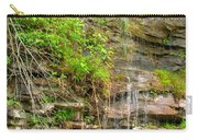Waterfall On The Way To Thurmond Carry-all Pouch