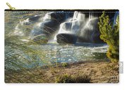 Waterfall Sunset Carry-all Pouch