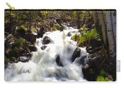 Waterfall Through The Aspens Carry-all Pouch