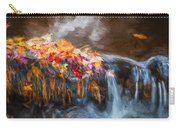 Waterfalls Childs National Park Painted  Carry-all Pouch