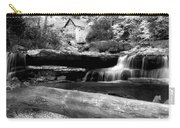 Waterfalls Mill Black N White Carry-all Pouch