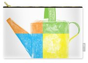 Watering Can Pop Art Carry-all Pouch