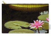 Waterlilies And Platters Vertical Romance Carry-all Pouch