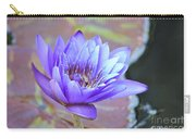 Waterlily And Bee Carry-all Pouch