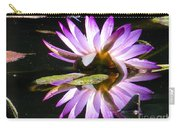 Waterlily And Dragonfly Carry-all Pouch