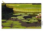 Waterlily Charm Carry-all Pouch