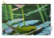 Waterlily Whimsy Carry-all Pouch