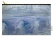 Waterloo Bridge, C.1900 Pastel On Paper Carry-all Pouch