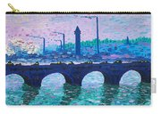 Waterloo Bridge Homage To Monet Carry-all Pouch by Kevin Croitz
