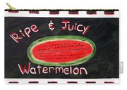 Watermelon Market Sign Carry-all Pouch