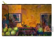 Watermelons On The Window Sill Carry-all Pouch