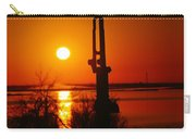 Waterpump In The Sunrise Carry-all Pouch by Jeff Swan