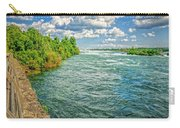 Waters Feeding Niagara Falls Carry-all Pouch