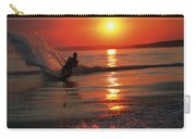 Waterskiing At Sunset Carry-all Pouch