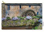 Waterwheel In Brittany Carry-all Pouch