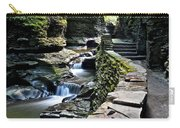 Watkins Glen State Park Carry-all Pouch by Frozen in Time Fine Art Photography
