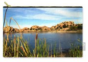 Watson Lake Carry-all Pouch by Kurt Van Wagner