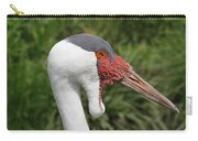 Wattled Crane Carry-all Pouch