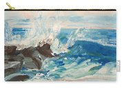 Wave At Sunset Beach Carry-all Pouch
