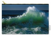 Wave Crashing On Pacific Coast, Oregon Carry-all Pouch