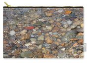 Wave Over Beautiful Rocks Carry-all Pouch