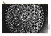 Wave Particle Duality Black White Carry-all Pouch