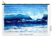 Wave Serenity Prayer Carry-all Pouch