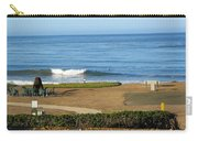 Wave Upon San Simeon Shore Carry-all Pouch