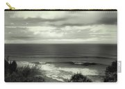 Wave Watching In Black And White - Kauai - Hawaii Carry-all Pouch