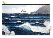 Waves And Tern Carry-all Pouch