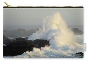 Waves At Salt Point Carry-all Pouch