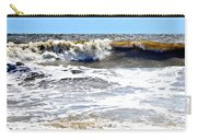Waves At Tybee Carry-all Pouch