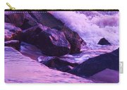 Waves  Breaking  On Jetties  Carry-all Pouch