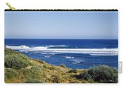Waves Breaking On The Beach, Western Carry-all Pouch