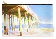 Waves By The Pier Carry-all Pouch