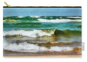 Waves Crash Carry-all Pouch
