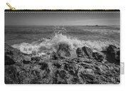 Waves Crashing Bw Carry-all Pouch