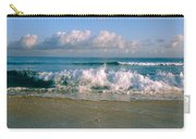 Waves Crashing On The Beach, Varadero Carry-all Pouch