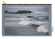 Powerful Waves Coming Ashore In San Juan # 1 Carry-all Pouch