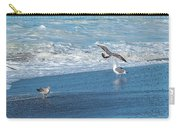 Waves In The Pacific Ocean, Point Reyes Carry-all Pouch