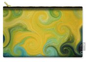 Waves Of Gold Carry-all Pouch