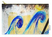 Waves On A Wall Carry-all Pouch